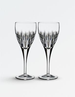 WATERFORD マラ クリスタル ワイン グラス 新品未使用正規品 2個セット Mara crystal two glasses 新商品 wine set of