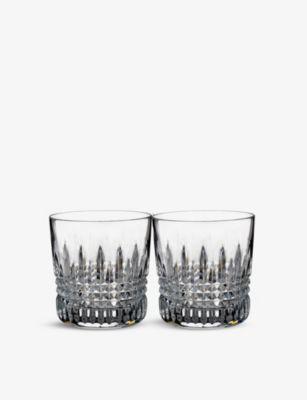 WATERFORD リズモア ダイアモンド タンブラー 舗 グラス 2個セット Lismore two 営業 glasses tumbler of set Diamond