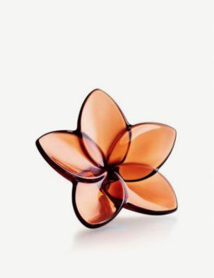 人気 おすすめ BACCARAT ブルーム クリスタル オーナメント ornament 9cm 格安SALEスタート Bloom crystal