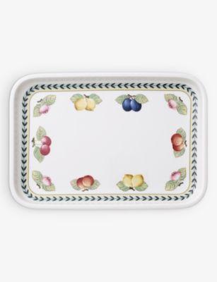 VILLEROY BOCH フレンチガーデンフラーレンス ポーセレイン サービング ディッシュ 32cm porcelain serving タイムセール Garden Fleurence 年間定番 dish French