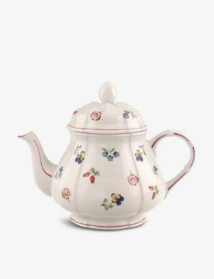 VILLEROY BOCH 新作続 公式サイト ペティットフルール ポーセレイン ティーポット Fleur teapot 1L porcelain Petite