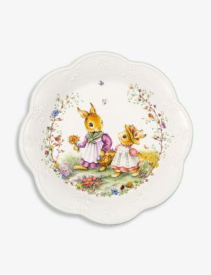 VILLEROY BOCH スプリング ファンタジー ポーセレイン 祝日 ボウル Fantasy 30.5cm bowl 最安値 porcelain Spring