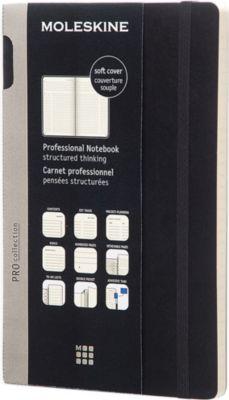 MOLESKINE ラージ プロフェッショナル ノートブック Large AL完売しました。 notebook professional 人気