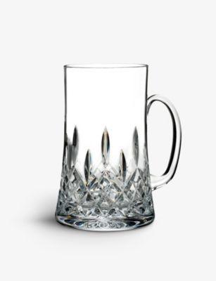 WATERFORD 激安セール リズモア コノイズリー クリスタル グラス ビア マグ Lismore Connoisseur 15ml ストア mug glass crystal beer