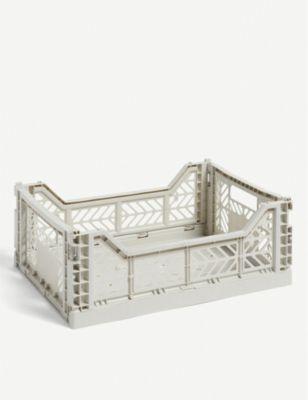 HAY スタッカブル プラスティック クレート crate 40cm Stackable plastic 正規品 中古