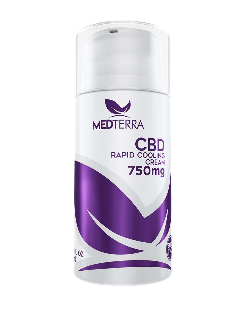 CBD オイル ヘンプクリーム 750mg 100%ナチュラル 99%pureCBD MEDTERRA メディテラ