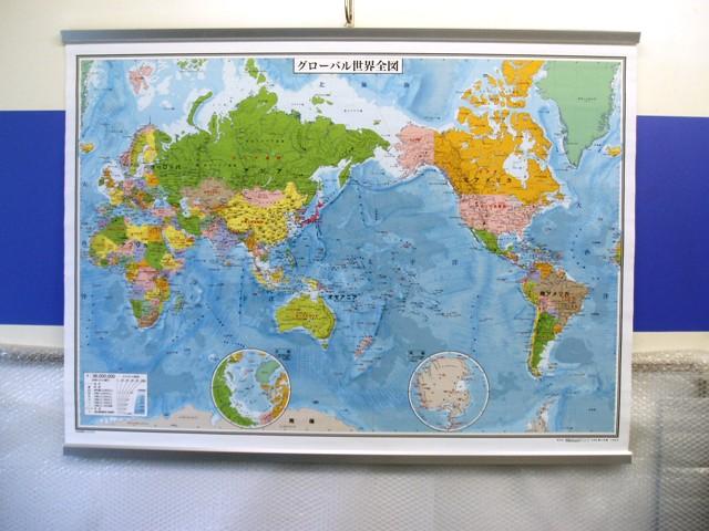小判 世界地図 ロールシート