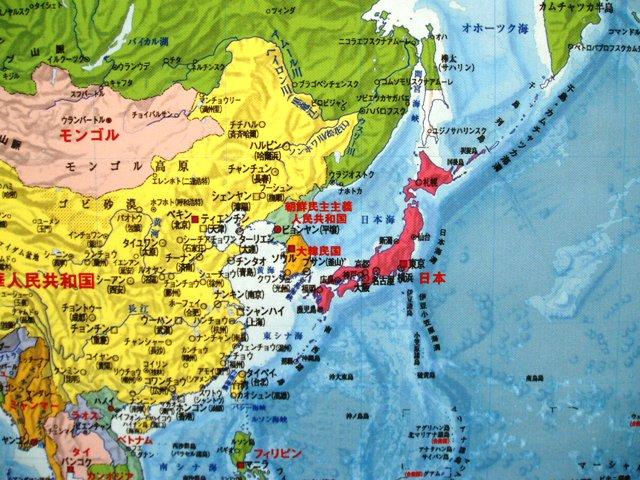 世界地図行政図ポスターグローバルプランニング