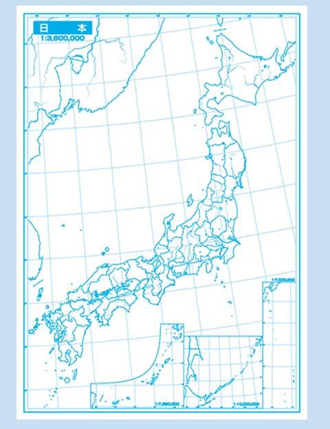 globalplanning | Rakuten Global Market: Blank map Japan blank map ...