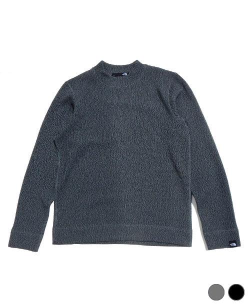 《THE NORTH FACE・メンズ》ザ・ノースフェイスエクスプローラーテックセーターモックネック(NT61862)Z・K色(S/M/L/XLサイズ)【送料無料】※新しい感覚のセーターです。