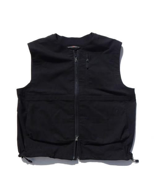 《POUTNIK・メンズ》ポートニックBLADE vest(ブレードベスト)ブラック色(XS/S/M/L/XLサイズ)【送料無料】【後払決済不可】超快適な4wayストレッチジャケット