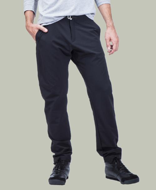 《POUTNIK / Tilak・メンズ》ポートニック(ティラック)MONK Pants(モンクパンツ)ブラック色(XS/S/M/L)【送料無料】超快適な4wayストレッチタイトパンツ 。