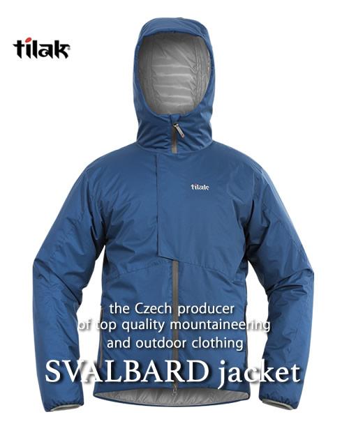 2018F/W予約商品【代引不可】《Tilak・メンズ》ティラックSVALBARD Jacket(スバルバードジャケット)ダークデニム色(XS/S/M/Lサイズ)【送料無料】11月下旬のお届け予定※撥水性の高い中綿ダウンジャケット。