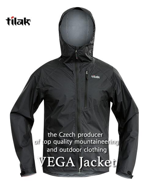 ファッションなデザイン 《Tilak・メンズ》ティラックVEGA Jacket(ベガジャケット)キャビアブラック色(XS/S/M/Lサイズ)【送料無料】※撥水性・防風性のの高いナイロンジャケット。, 旅STYLE:3055448d --- supercanaltv.zonalivresh.dominiotemporario.com