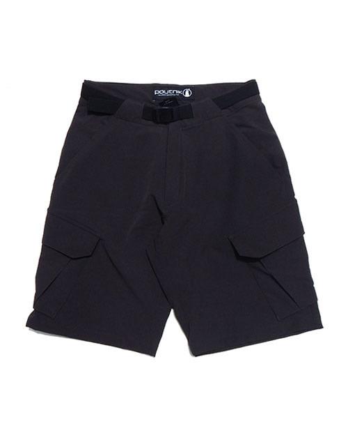 《POUTNIK(Tilak)・メンズ》ティラックTRAVEL Shorts(トラベルショーツ)カーボン色(XS/S/M/Lサイズ)【送料無料】※トラベルラインのストレッチショーツ。