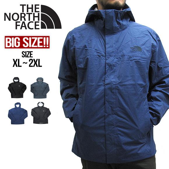 【大きいサイズ】THE NORTH FACE ザ・ノースフェイス NF0A2VD3 ベンチャー2ジャケット ナイロンジャケット マウンテンパーカー マウンテンジャケット VENTURE 2 JACKET ストリート アウトドア カジュアル レインウェア 送料無料 ビッグサイズ