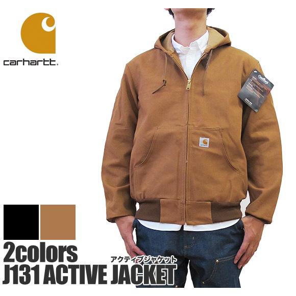 ジャケット ジャケット JACKETストリート Carhartt ジャケット J131 ダック アクティブジャケット ACTIVE カーハート