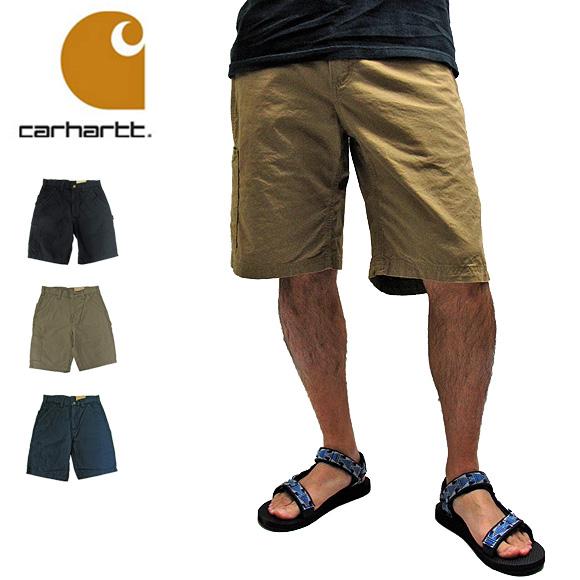 Carhartt カーハート ショートパンツ カーゴパンツ B147 CANVAS WORK SHORT PANTS キャンバス ワーク ショートパンツ