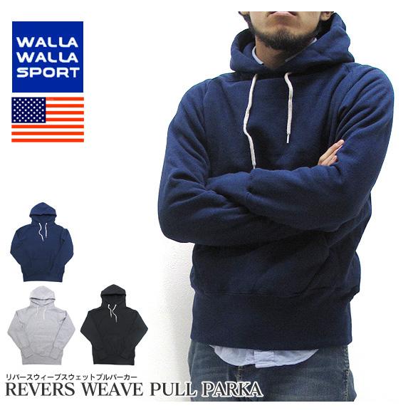 【25日限定★全商品ポイント10倍】【セール】WALLA WALLA SPORT ワラワラスポーツ スウェット パーカー プルオーバー 10.5オンス 10.5oz PULLOVER PARKA