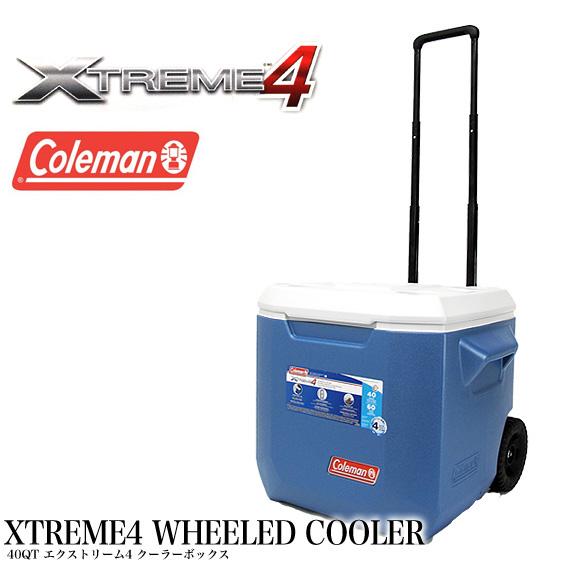【送料無料】コールマン COLEMAN クーラーボックス 37.9L 3000005170 3000002115 40QT エクストリーム ホイールクーラー XTREME WHEELED COOLER ハードクーラー