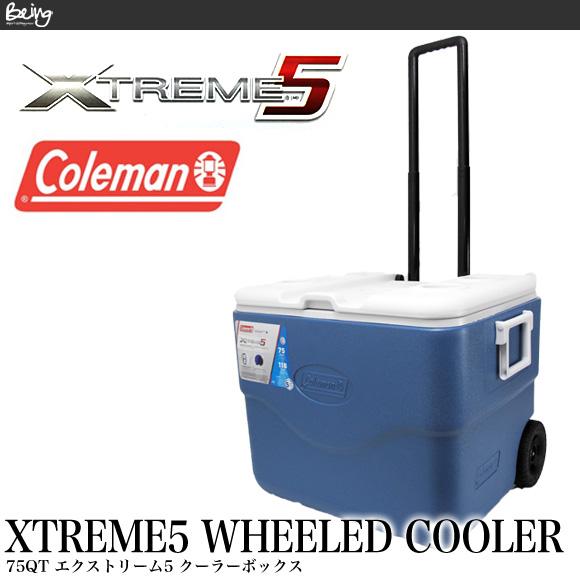 【送料無料】コールマン COLEMAN クーラーボックス 71L 3000001733 75QT エクストリーム ホイールクーラー XTREME WHEELED COOLER ハードクーラー