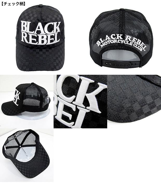 2e5c4b05517dcd ... BLACK REBEL black label cap mesh cap MESH CAP plain fabric checked  pattern terry ...