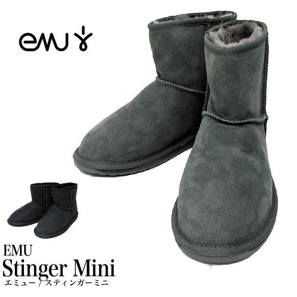 【送料無料】EMU ムートンブーツ Stinger Mini エミュー オーストラリア スティンガーミニ レディース W10003 正規品【返品交換不可】