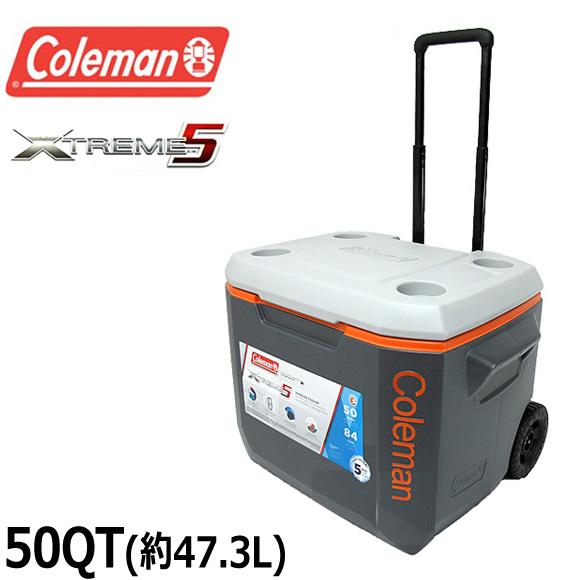【送料無料】コールマン COLEMAN クーラーボックス 47.3L 3000005157 3000002005 50QT エクストリーム ホイールクーラー XTREME WHEELED COOLER ハードクーラー