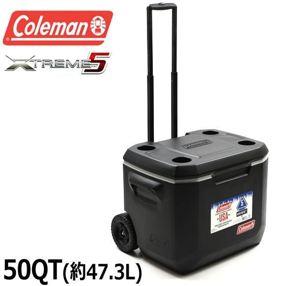 コールマン COLEMAN クーラーボックス 47.3L 3000005145 3000002003 50QT エクストリーム ホイールクーラー XTREME WHEELED COOLER ハードクーラー