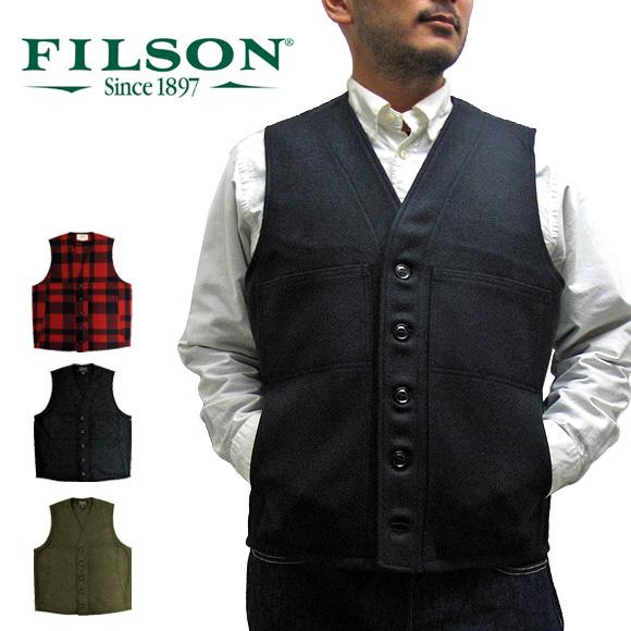 フィルソン FILSON 11010055 マッキーノ ウールベスト ベスト MACKINAW WOOL VEST