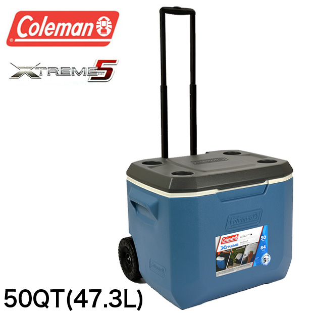 コールマン COLEMAN クーラーボックス 47.3L 3000005889 50QT エクストリーム ホイールクーラー XTREME WHEELED COOLER ハードクーラー