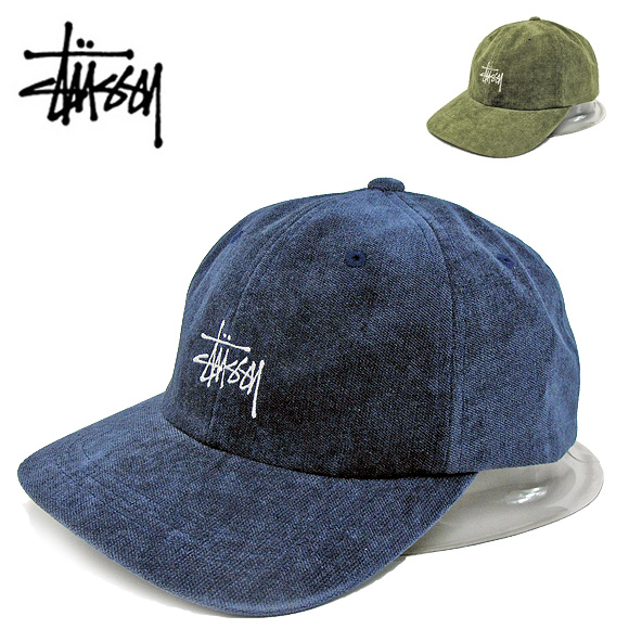 STUSSY ステューシー キャップ131880 NO WALE CORD LOW CAP NO WALE コーデュロイ ローキャップ