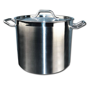 Winware Stainless Steel 8 オリジナル Quart 今季も再入荷 Pot Cover with Stock