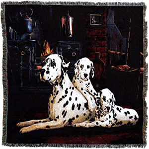 Pure Country Weavers - Dalmatian Woven Tapestry Throw Blan
