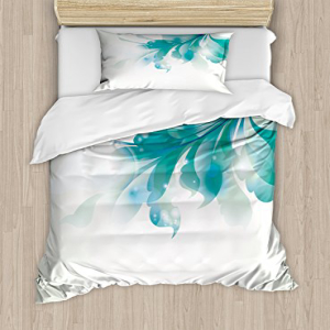Ambesonne Abstract Duvet Cover Set Twin Size, Big Single B