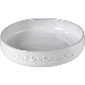 Bountiful Blessings by Precious Moments 189901 全国一律送料無料 The Secret Ingredient is Serving White Round 12-inch Cream Always 限定価格セール Diameter Bowl Love