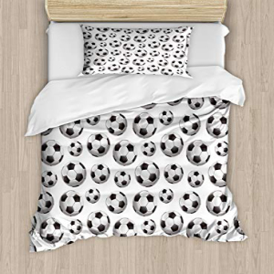 Lunarable Nursery Duvet Cover Set Twin Size, Pattern with