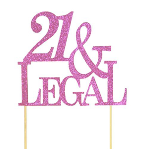 <title>期間限定送料無料 All About Details Pink 21--Legal Cake Topper 4.3