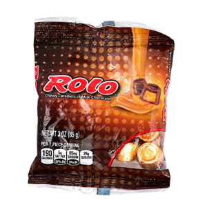 Hershey 1 Bag Rolo - 毎週更新 Caramels Milk in Chewy 信憑