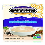 Slightly Sweet Oregon Chai Tea Latte Concentrate 32-Ounce Boxes Pack 爆安プライス of Spiced Black Service Caf Liquid Home Use 6 For Food 業界No.1