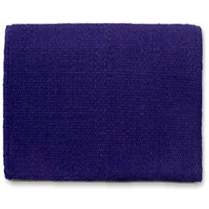 超人気 専門店 Mayatex San Juan Solid Blanket Saddle Indigo 付与