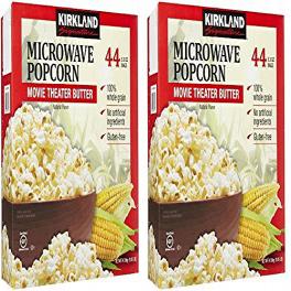 カークランドシグネチャーgDhmST電子レンジポップコーン 3.3オンス 44カウント 日時指定 2パック Kirkland Signature gDhmST Microwave 定価 3.3 2 Popcorn oz Count Pack 44