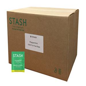 Stash Tea Peppermint Herbal Tea 1000 Tea Bags in