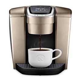 <title>選択 Brushed Gold Keurig K-Elite Single Serve K-Cup Pod Coffee Maker</title>