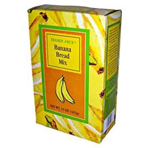 トレーダージョーズバナナブレッドミックス Trader Joe's Banana Bread Mix