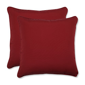 Pillow Perfect Decorative Red 保証 Toss Solid SALE開催中 Pillows