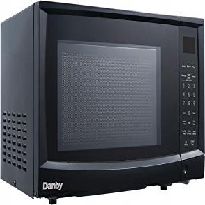 Danby DMW09A2BDB 0.9 cu. ft. Microwave Oven, Blac