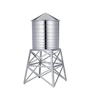 保障 Alessi Water Tower 激安挑戦中 Kitchen in Stainless Container