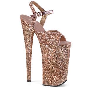 オンラインショップ Pleaser Women's Beyond-010LG Sandal Ankle-Strap ついに再販開始