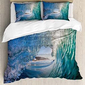 人気の Ambesonne Wave Duvet Cover Set, Inside Hollow Crash, こころあ堂 052454d2